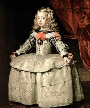 Damenmode im barock