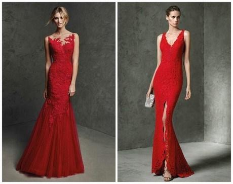 Elegantes langes kleid