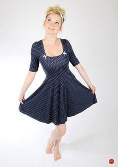 Kleid im 60er look