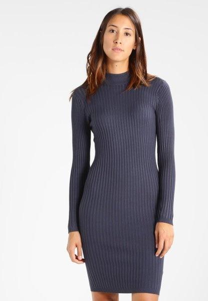 Kleid dunkelblau kurz