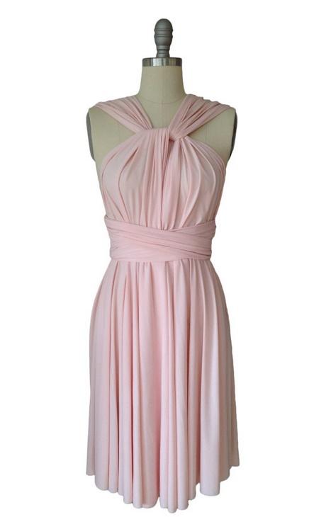Kleid rosa kurz