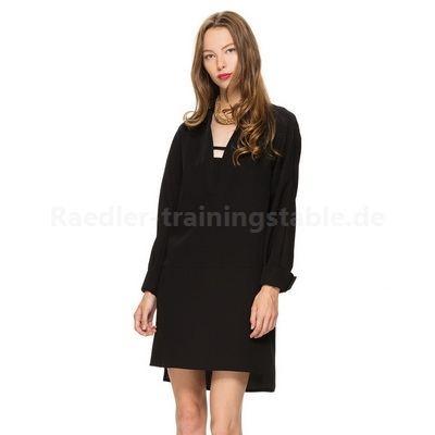 Langarm kleider schwarz