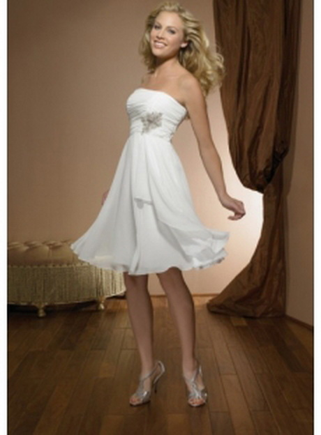 Brautmode standesamt kostüm