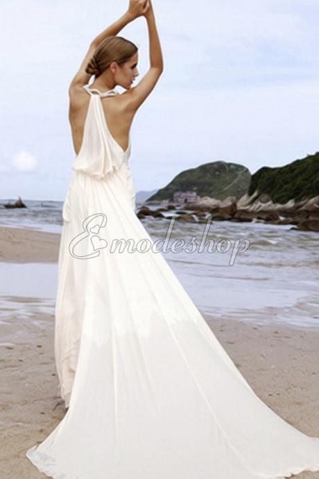 Hochzeitskleid für den strand