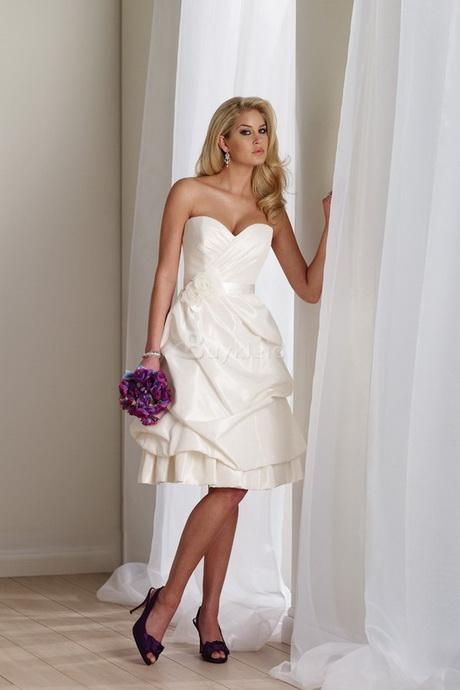 Kleid standesamt knielang