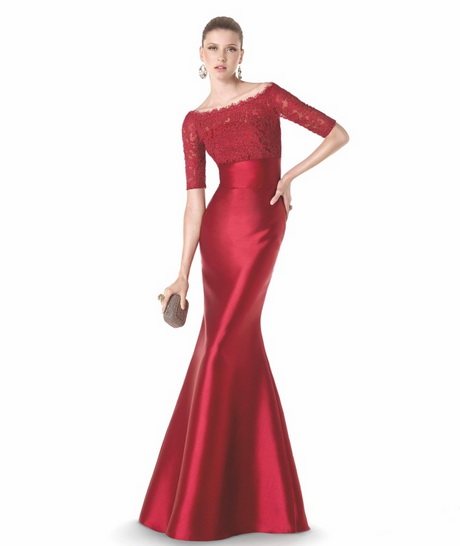 Kleider rot lang