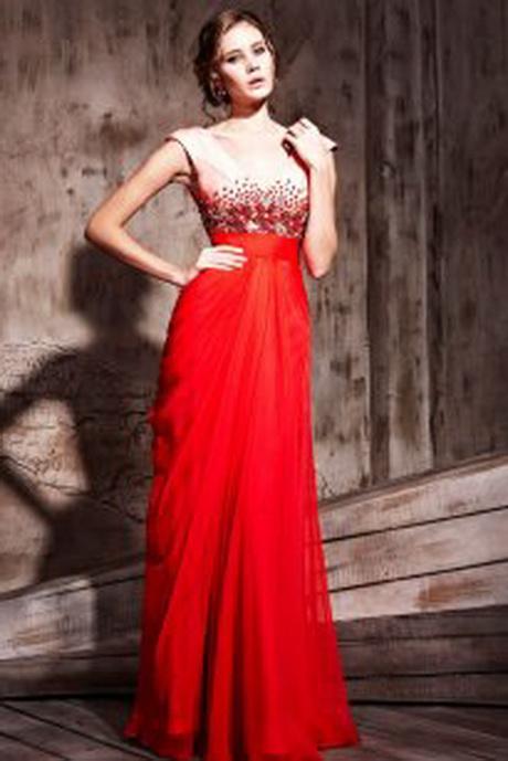 Lange kleider rot