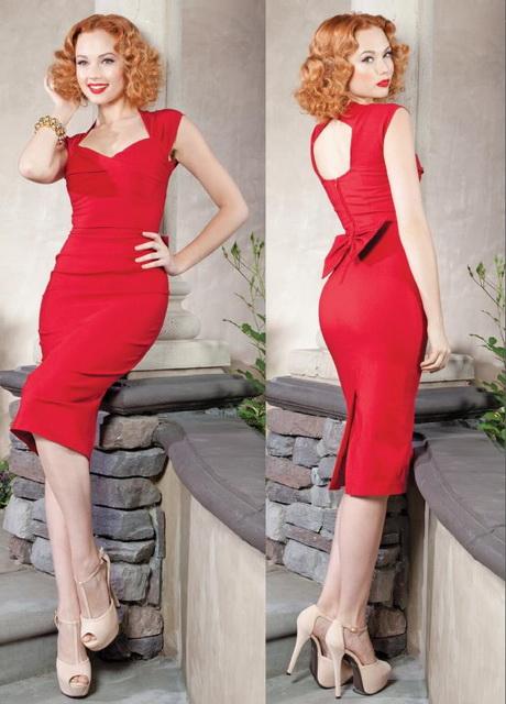 Rotes kleid fur silvester