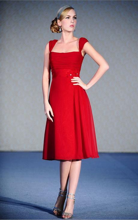 Rotes kleid für hochzeit