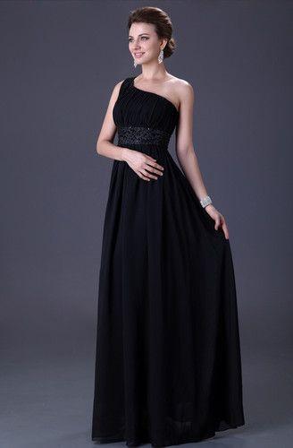 Abiballkleider lang schwarz