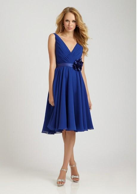 Blaues kleid welche schuhe