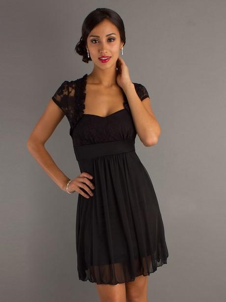 Festliche kleider kurz schwarz
