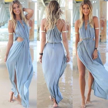 Damen lange kleider sommer