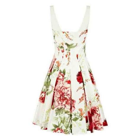 Kleid blumen