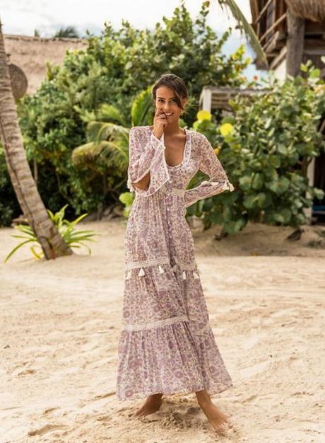 boho hippie kleid