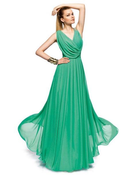 Grünes kleid lang