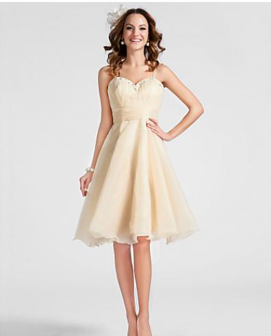Kleid kurz weiß