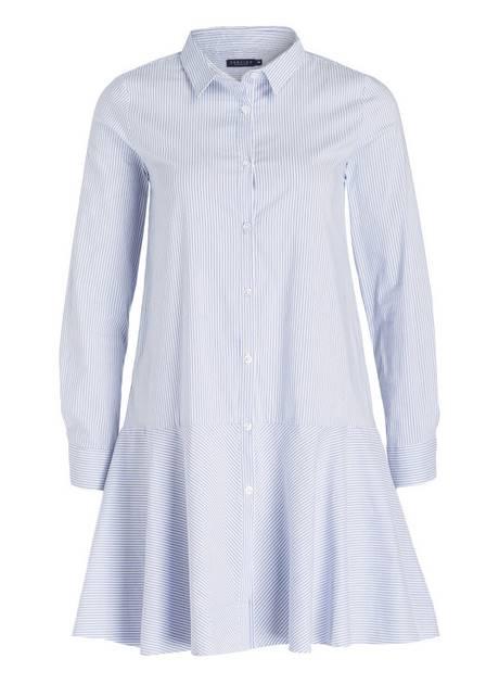 blusenkleid gestreift