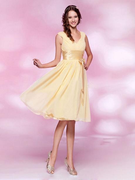 Abendkleider pink knielang