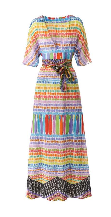 Hippie kleid maxi