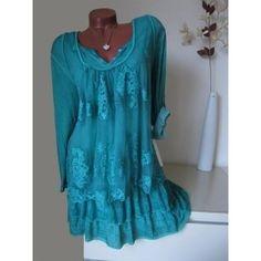 Kleid italien seide