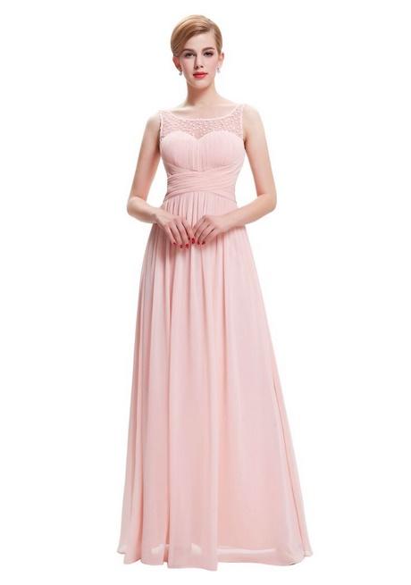 Rosa kleider lang