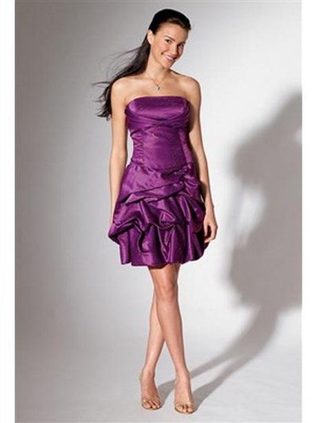 Abendkleid lila kurz