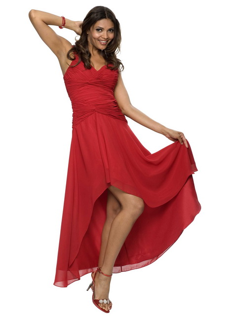 Elegante rote kleider
