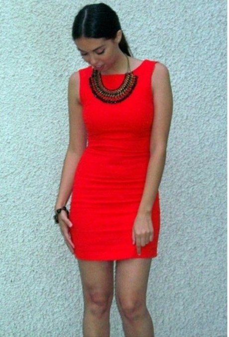 Elegantes rotes kleid - Zalando kleid rot ...