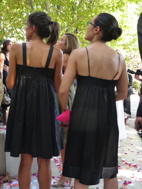 Hochzeitsgast schwarzes kleid