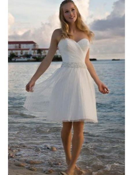 Hochzeitskleid weiß kurz