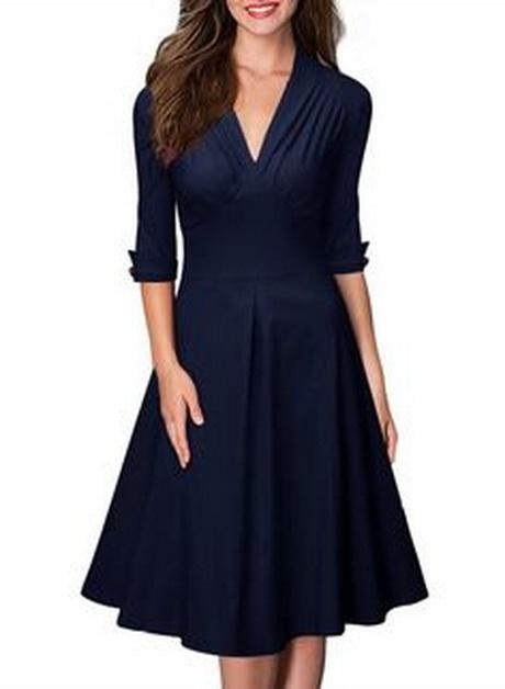 kleider blau damen