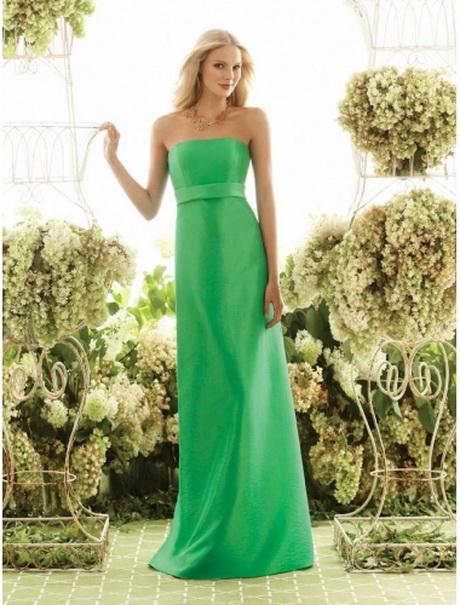 Lange grüne kleider