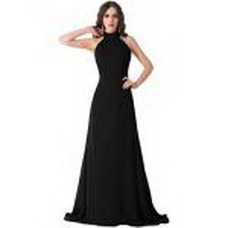 Lange schwarzes kleid
