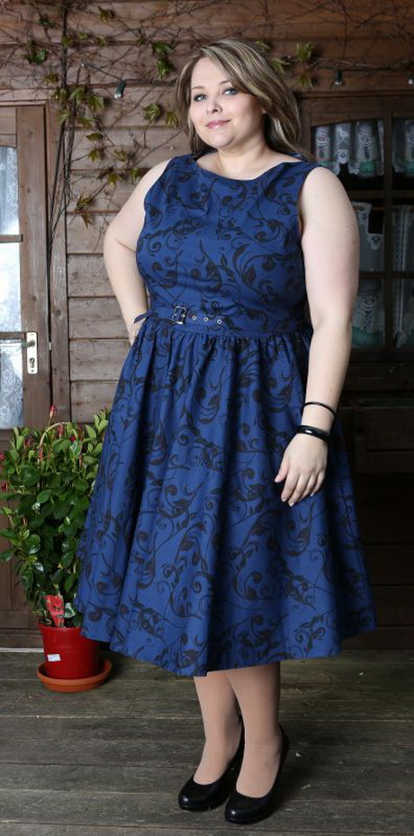 Petticoat kleid größe 50