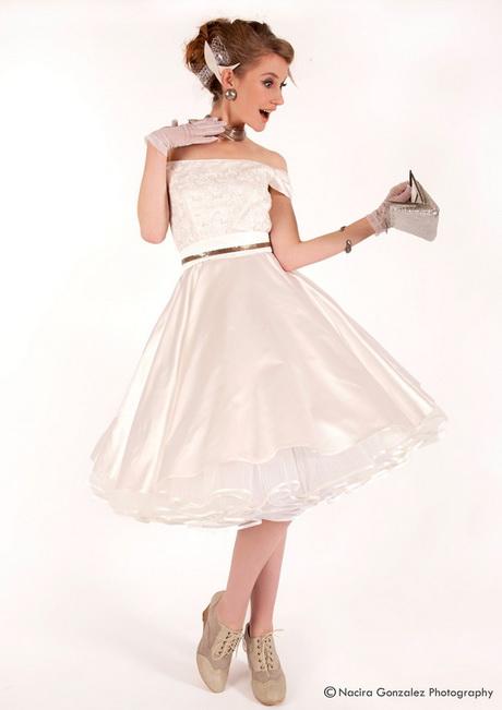Kleider 50er hochzeit