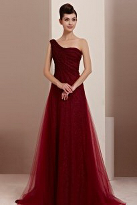 Rote elegante kleider