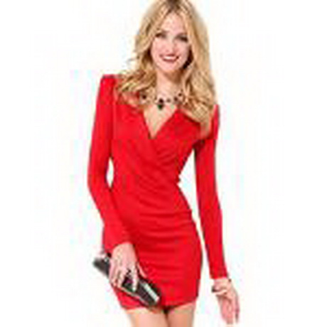 Rote sexy kleider