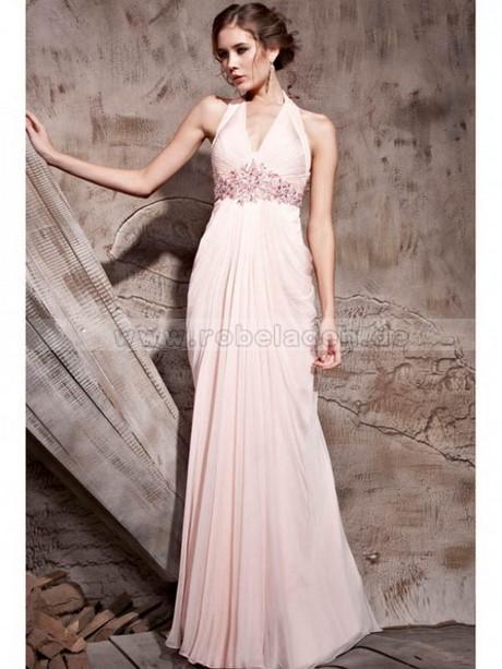abendkleid rosa lang