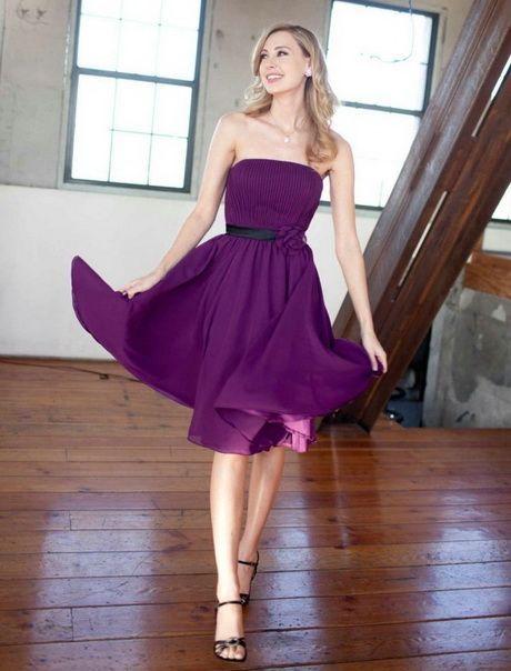 Kleid lila festlich