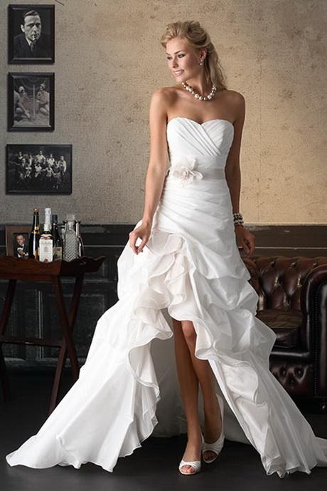 Brautkleid lang und kurz