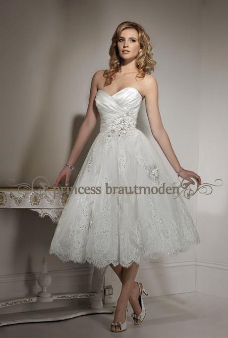 Brautkleid standesamt knielang