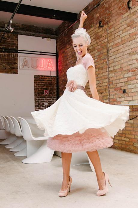 Brautkleider Farbig Standesamt