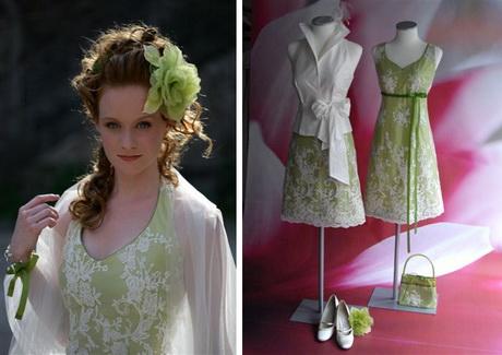 Brautkleider für den Frühling – Vannilla Brautkleid kurz ...