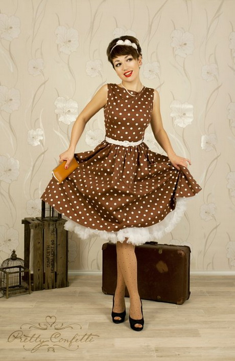 Die 50iger mode - Rockabilly outfit damen ...