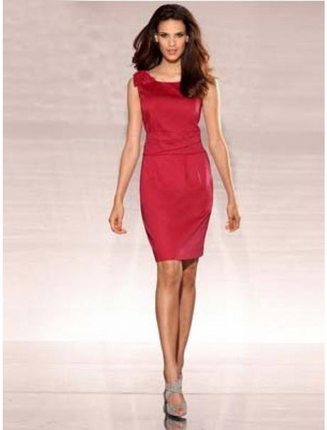 Elegante kleider in rot - Elegante kleider kurz ...