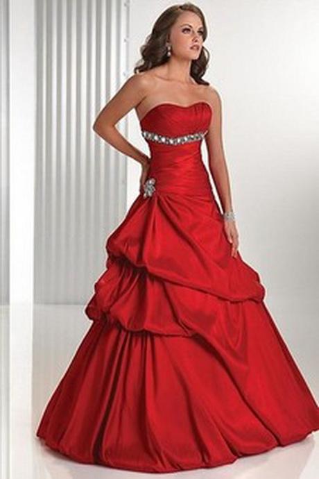 Festliche rote kleider