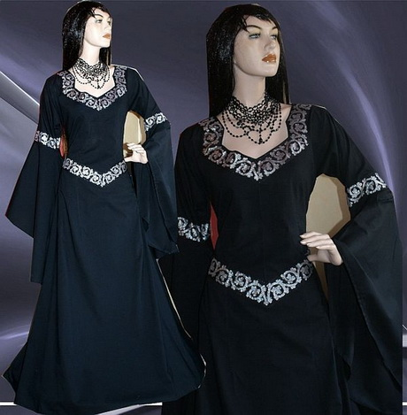 gothic mittelalter kleider. Black Bedroom Furniture Sets. Home Design Ideas