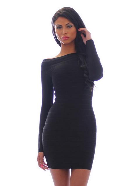 Klassisches schwarzes kleid