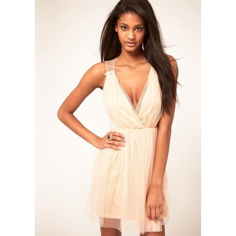 Kleid mit v ausschnitt kurz